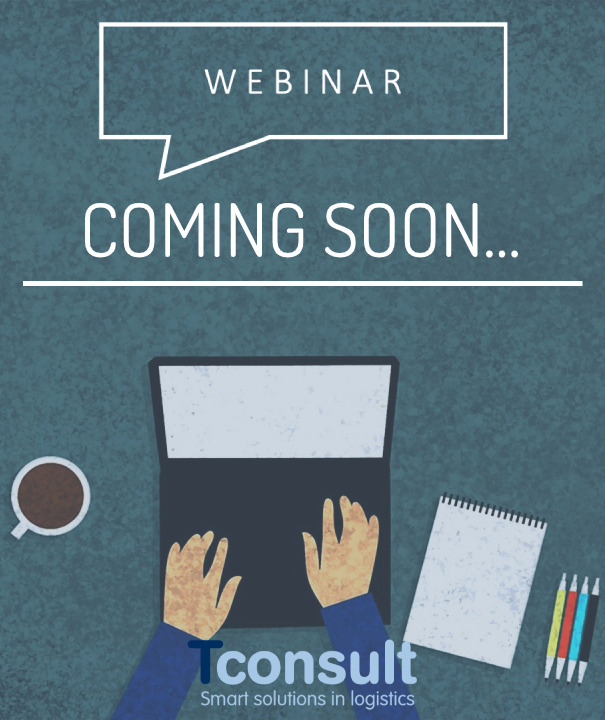 Image with text 'coming soon', announcement for new webinars
